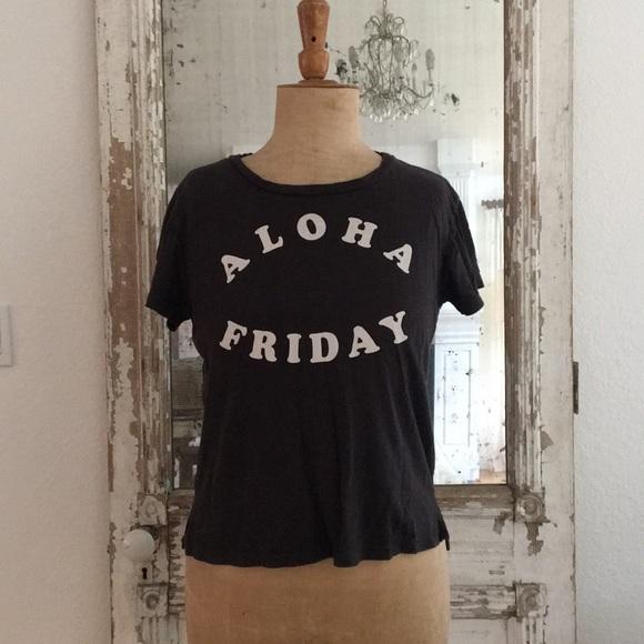 6b84b6bd675d sunnyside Tops | Tee Aloha Friday Vintage Black Xs | Poshmark